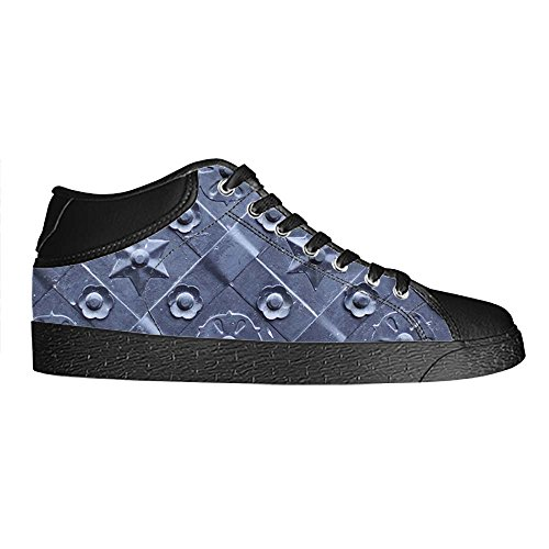 Dalliy Metal Men's Canvas shoes Schuhe Lace-up High-top Sneakers Segeltuchschuhe Leinwand-Schuh-Turnschuhe D