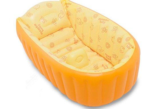 LIVY Kinder Designer Baby Badewanne kleinen Säugling aufblasbare Babybadewanne