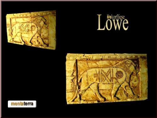 mentaterra Ägyptische Dekorfliese Nr. 8, Löwe Terrarium Rückwand