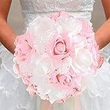Ramo de rosas de simulación estilo coreano para novia