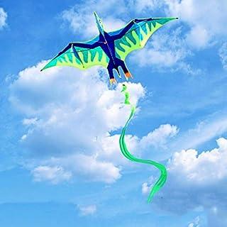 AYLS Tiermodellierdrachen, Kinder-dreidimensionaler Park-große Drachen-Strand im Freien Erwachsener Langer Schwanz, der Spielzeug-Drachen, 220 * 400cm fliegt,B