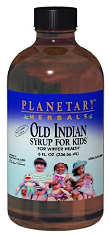 Old Sirop Indian for Kids, Flavor Wild Cherry - Planetary Herbals