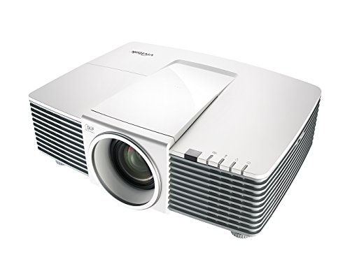 vivitek DU3341, vielseitiger 16:10 Installations-Projektor mit DICOM Stimulation Mode, 1,7x Zoom, 5200 ANSI Lumen, Kontrastverhältnis 15.000:1, Auflösung 1920x1200 Pixel, HDMI/MHL Eingang, weiß - Led-projektor-1080p-epson