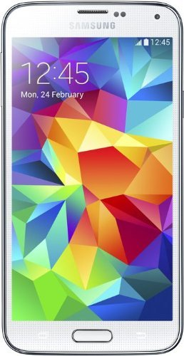 Samsung Galaxy S5 - Smartphone libre Android (pantalla 5.1', cámara 16 Mp, 16 GB, Quad-Core 2.5 GHz, 2 GB RAM), blanco