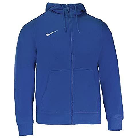 Nike Team Club Full Zip Hoodie royal blue-royal blue-football white - S