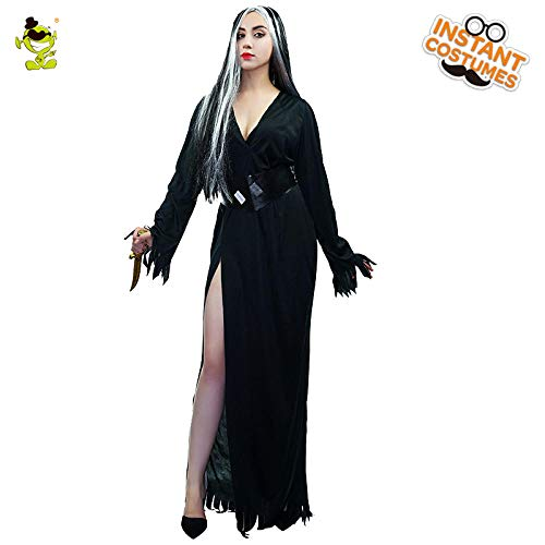 GAOGUAIG AA Neue Halloween Party Europa Teufel Kostüm Frauen Leiche Braut Sexy Kleid Cosplay Bloody Creepy Kostüm Party Zombie Kostüme SD (Color : Onecolor, Size : Onesize)