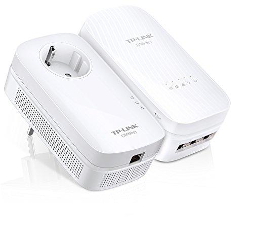 TP-Link TL-WPA8730 KIT - Extensor de red por línea eléctrica (1750 Mbps...