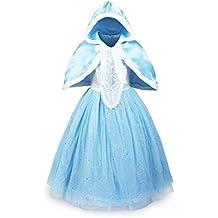 UK1stChoice-Zone Buena Calidad Diseño más reciente Princesa Disfraz Traje Parte Las Niñas Vestido DRESS-CNDR (5-6 años, DRSS-CND1)