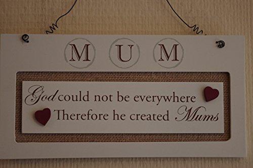 Mum Gott, kann nicht überall sein He Created Mütter Zeichen