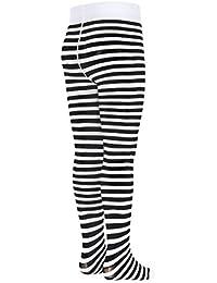ac09f18540ba3 TLLC Striped Girls Tights 50 Denier Semi Opaque Microfibre