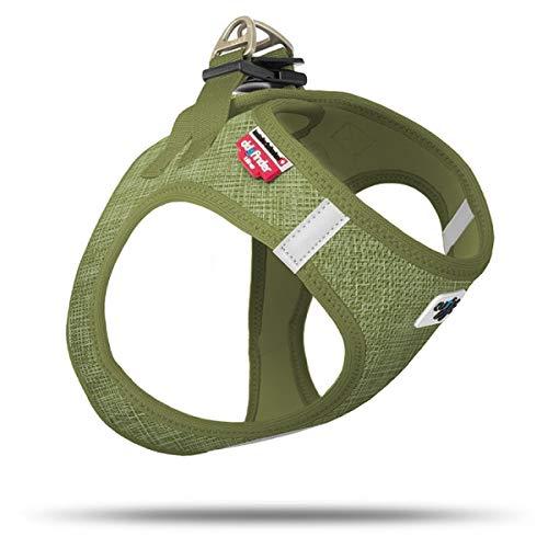 Curli Vest Geschirr Air-Mesh Linen Olive Special Edition SE19 SE-OLI Größe XS von mylittledog