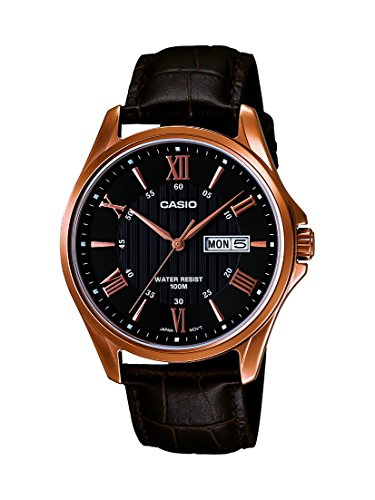 casio-mens-rose-tone-leather-band-day-date-roman-black-dial-watch-mtp-1384l-1av