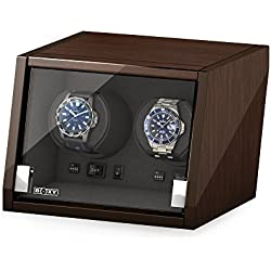 Beco Watch Winder Castle 2 Walnut UK