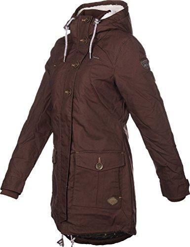 Damen Mantel ragwear Jane Coat  Größe S Braun - 2