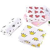 Weiche Warme Decke für Baby, Bequeme Atmungsaktive Doppelseitige Volle Baumwolle Niedliche Muster Kleine Steppdecke Decke für Kinder