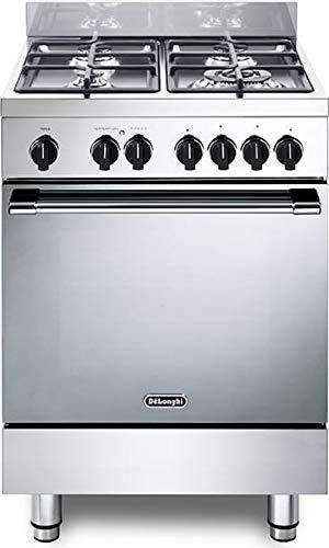 Cocina de gas con horno eléctrico, N° 4 fuegos, 60 x 60...