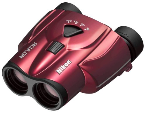 Nikon Aculon T11 8-24x25 - Prismáticos (zoom de 8x a 24x, lentes frontales de 25 mm)
