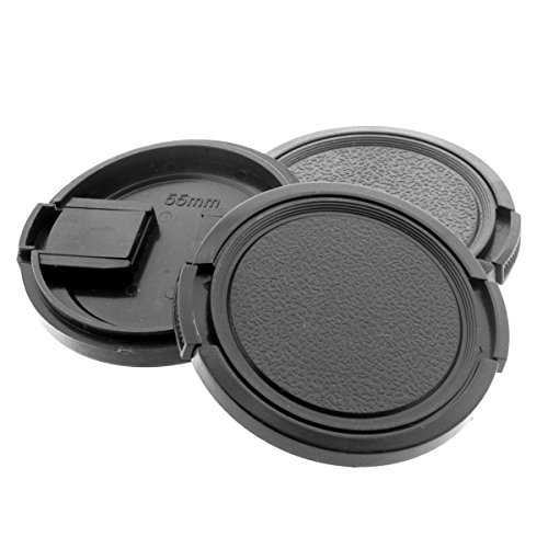 55mm Frontdeckel (3x) 55 mm Zuiko MC 35mm 35-70mm 135mm Minolta 50mm 85mm Kamera Schutz Deckel SLR Berlin Optix (35mm Minolta Kamera)