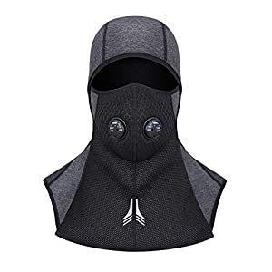WATERFLY Sturmhaube Balaclava Ski Face Mask Windproof Men Women Warm Hood Winter Masks Thermal Fleece Fabric with Breathable Vents for Cold Cycling Skiing Motorcycle Snowboard Tactical Hunting