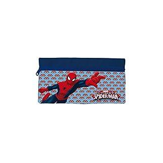 Estuche portatodo plano de Spiderman