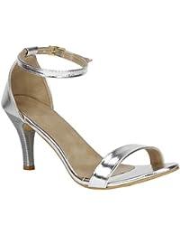 2e654e503264 Silver Women s Fashion Sandals  Buy Silver Women s Fashion Sandals ...