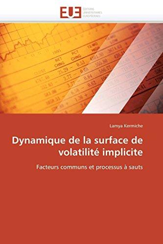Dynamique de la surface de volatilité implicite