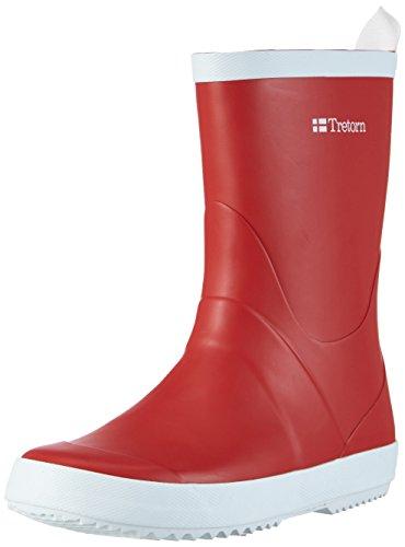 Tretorn Wings, Unisex-Erwachsene Kurzschaft Gummistiefel, Rot (Red 050), 41 EU - Tretorn Schuhe