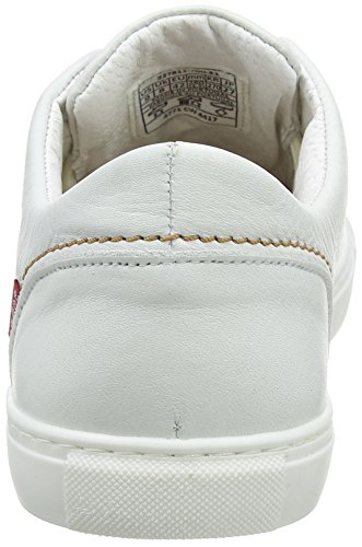 Levi's Herren Vernon Sneaker Weiß (Noir Regular White)