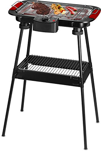 Techwood TBQ-825P Barbecue sur Pied/Table