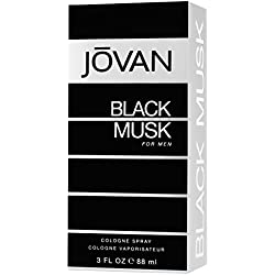 Jovan EDT Cologne Black Musk Men, 88ml