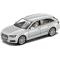 Original Audi A4 8W Avant Coche a escala 1:43 Modelo 2015 Blanco glaciar blanco
