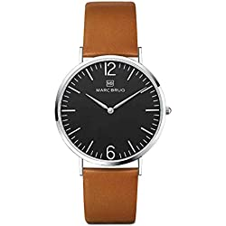 Marc Brüg Ladies' Minimalist Watch Paddington 36 Black