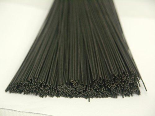 50 Stück Steckdraht, Basteldraht, blau geglüht, 1,2 mm x 300 mm, Stieldrahtdraht