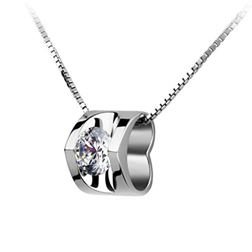 free-engraving-beydodo-silver-pendant-necklaces-for-women-double-love-heart-cz-round-silver