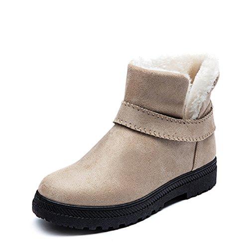 Botas de Nieve para Mujer Invierno Calentar Acolchado Casual Boots Aire Outdoor...