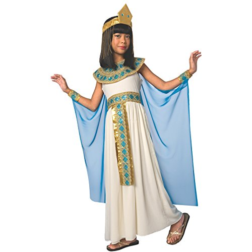 Morph costume cleopatra, la regina egiziana del nilo carnevale - grande - (9 - 11 anni)