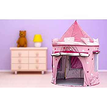 KiddyPlay Deluxe Pink Pop-Up Castle Play Tent  sc 1 st  Amazon UK & KiddyPlay Deluxe Pink Pop-Up Castle Play Tent: Amazon.co.uk: Toys ...