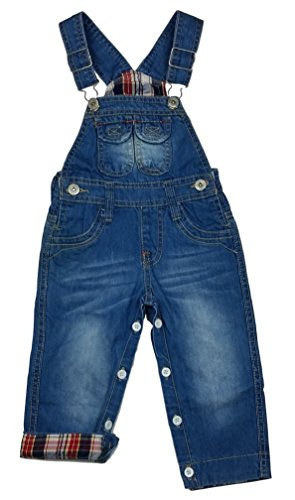 Chilong Tolle Jeans Latzhose Gr. 18/24 Mon. J1333e