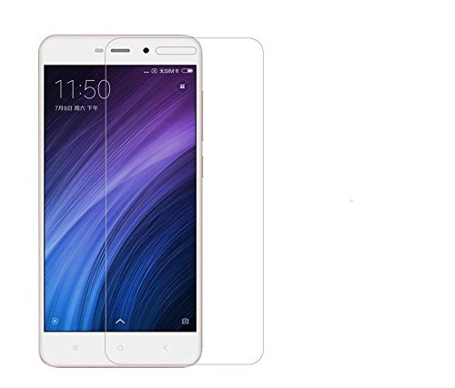 Tempered Glass For Xiaomi Redmi 4a 2.5 D Curved Edge / Anti Fingerprint Coating / 9H Hardness 0.3MM Screen Guard For 2.5D Curve Tempered Glass Screen Protector For Mi 4a  available at amazon for Rs.170