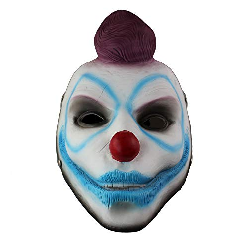 Payday2 fox halloween anime bianco set v word fai da te game mask