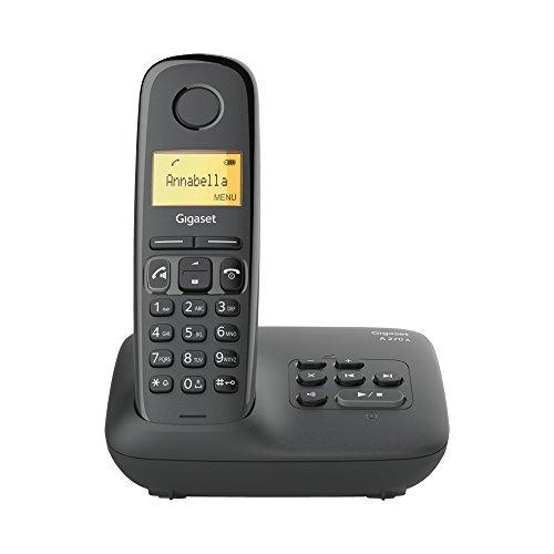 Gigaset A270A Festnetz-Telefon Schwarz schnurlos DECT Anrufbeantworter