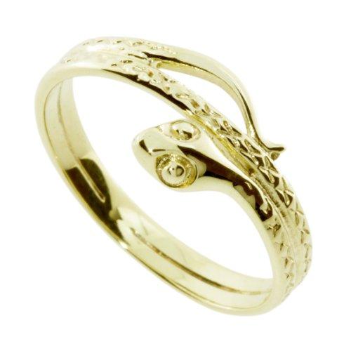 InCollections Damen-Ring 333/000 Gold Größe 64 (20.4), Schlange 461A170958100