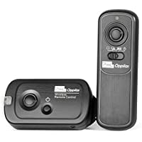 Pixel RW-221/DC2 Disparador Inalámbrico para Cámara Réflex Nikon D3100, D3200, D3300, D5000, D5100, D5200, D5300, D5500, D90, D7000, D7100, D7200, D600, D610, D750