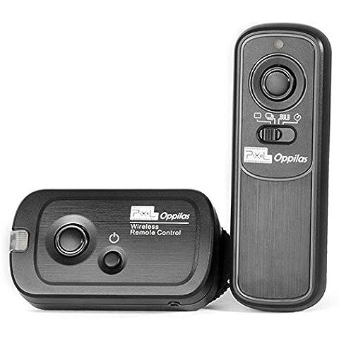 Pixel Oppilas DC0 Disipador Remoto Mando Inalámbrico Para Cámaras Digitales Nikon D1, D2, D3, D3s, D4, D5, D4s, D800, D810, D700, D500, D300, D300s, D200, D100, N90s, F5, F6, F100, F90,