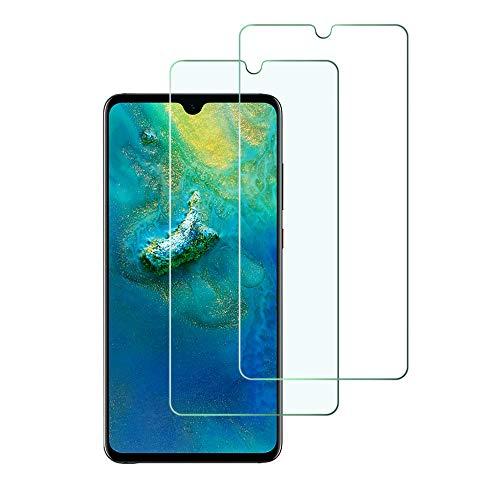 Widamin 2Pack, Compatibile con Huawei Mate 20 X 7.2 inch Vetro temperato, Pellicola in Vetro, Garanzia a Vita, [durezza 9H], [Alta Definizione], [No-Bubble] Screen Protector per Huawei Mate 20 X
