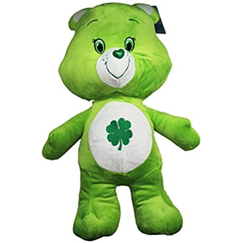 Care Bears Medium Sized Good Luck Bear Plush Toy (13in) by Care Bears