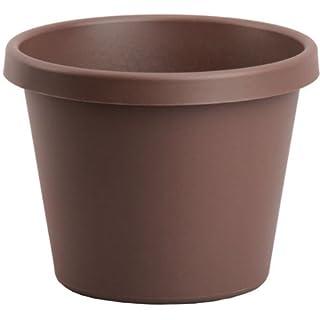 Akro-Mils LIA08000E21 Classic Pot, Chocolate, 8-Inch