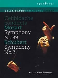 Mozart: Symphonie Nr. 39 / Schubert: Symphonie Nr. 2 [DVD]