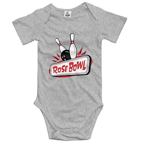 Klotr Unisex Baby Body Kurzarm Rose Bowl Newborn Bodysuits Baumwolle Strampler Outfit Set (6-12 Kostüm Yoda Baby Monate)