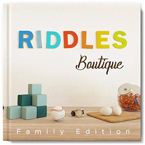 Riddles Boutique: Unique collection of beautifully designed logic riddles.  Great for both kids & adults. (English Edition)